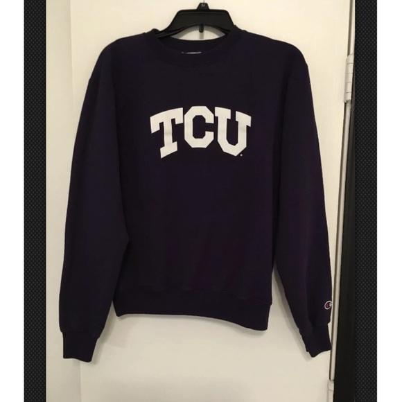 00f051b2b411d7 Champion Tops - Champion TCU Horned Frogs Women s Sweatshirt
